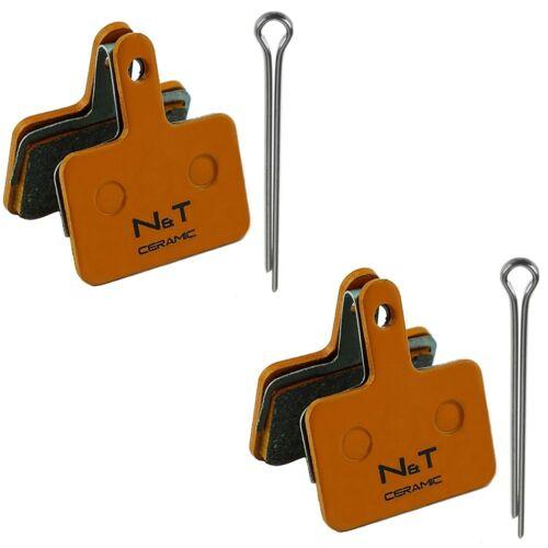 Tektro MD c400 m300 a10.11 e10.11 p20.11 semi Ceramic Sintered disc brake pads