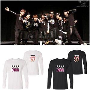 f5d29044e5 Larga Kpop Camisetas De Camisas Algodón Bts Suga Manga Amantes Jimin vaX4vw