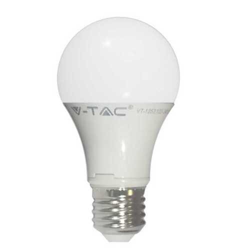 LAMPADINA A LED V-TAC LUCE CALDA 2700K NEUTRA 4500K FREDDA 6000K E27 9W