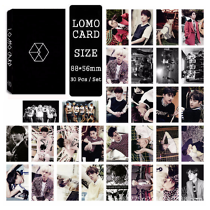 30pcs-set-Cute-Kpop-EXO-LOVE-ME-RIGHT-Photo-Picture-Poster-Lomo-Cards