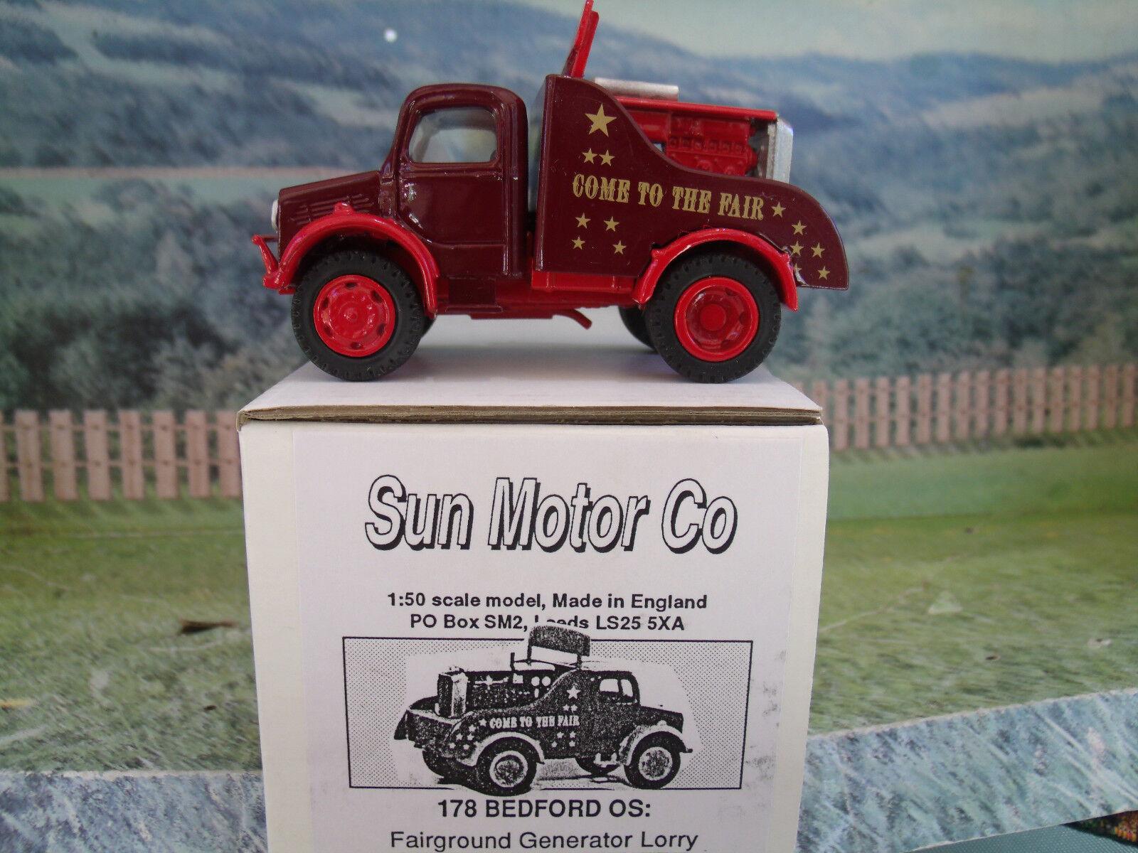 1 50 SUN MOTOR Co (England)  178 Bedford OS Come to the Fair , handbult  model