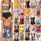 sexy donna costume digitale stampa pezzo unico Bikini abbigliamento da spiaggia