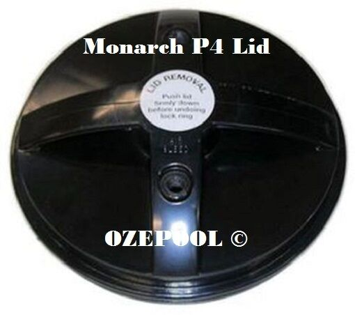 DAVEY  CLEARFLOW Monarch P4 Cartridge Filter LID, 235mm dia, MS6304