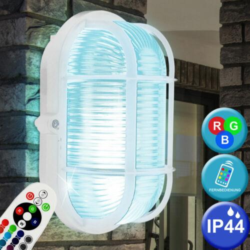 RGB LED Lampada da parete dimmer garage stanza da bagno SPAZIO umide lampada cambio colore