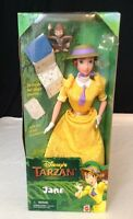 Vintage Disney's Tarzan Jane Doll W/ Baboon Book & Accessories Mattel 1999