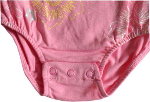 Baby Girls Pink Cotton Swimming Costume Swimsuit AgeN//B 3 Months 6 Months