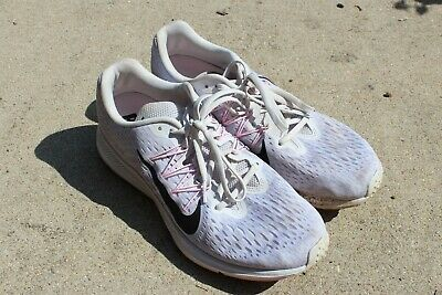 Nike Women's Air Zoom Winflo 5 Running Shoes Size 11 (Grey ...
