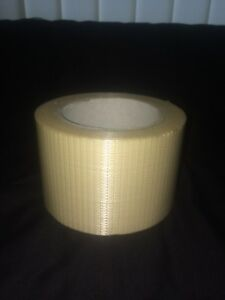 CROSSWEAVE TAPE Reinforced (75mm x 40m) RF20 Packing Parcels Boxes Heavy Goods