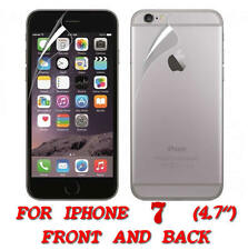 FRONT AND BACK CLEAR FILM LCD SCREEN PROTECTION FOR IPHONE 7 4.7 INCH