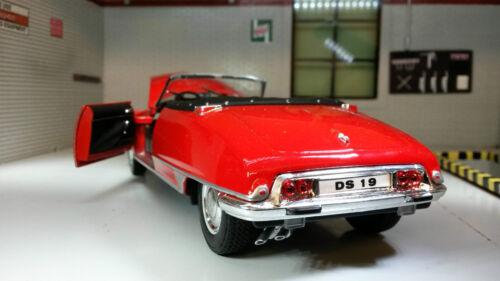 G LGB 1:24 Scale Citroen DS 19 1961 1963 Diecast V Detailed Model Cabriolet Car