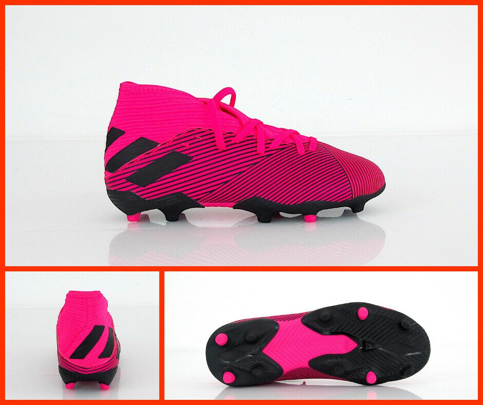 ADIDAS scarpe calcio bimbo NEMEZIZ 19.3 FG J F99953 FUCSIA FLUONERO agosto 2019