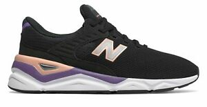 New-Balance-Men-039-s-X-90-Shoes-Black-With-Pink