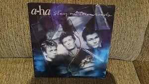 """A - Hat Stay On These Roads LP Vinyl 12 """" VG/VG Spanisch Ed Ersten Press 1988"""