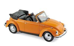 VW-Beetle-1303-cabriolet-1972-Orange-1-18-Norev-188521-NOUVEAU-amp-NEUF-dans-sa-boite