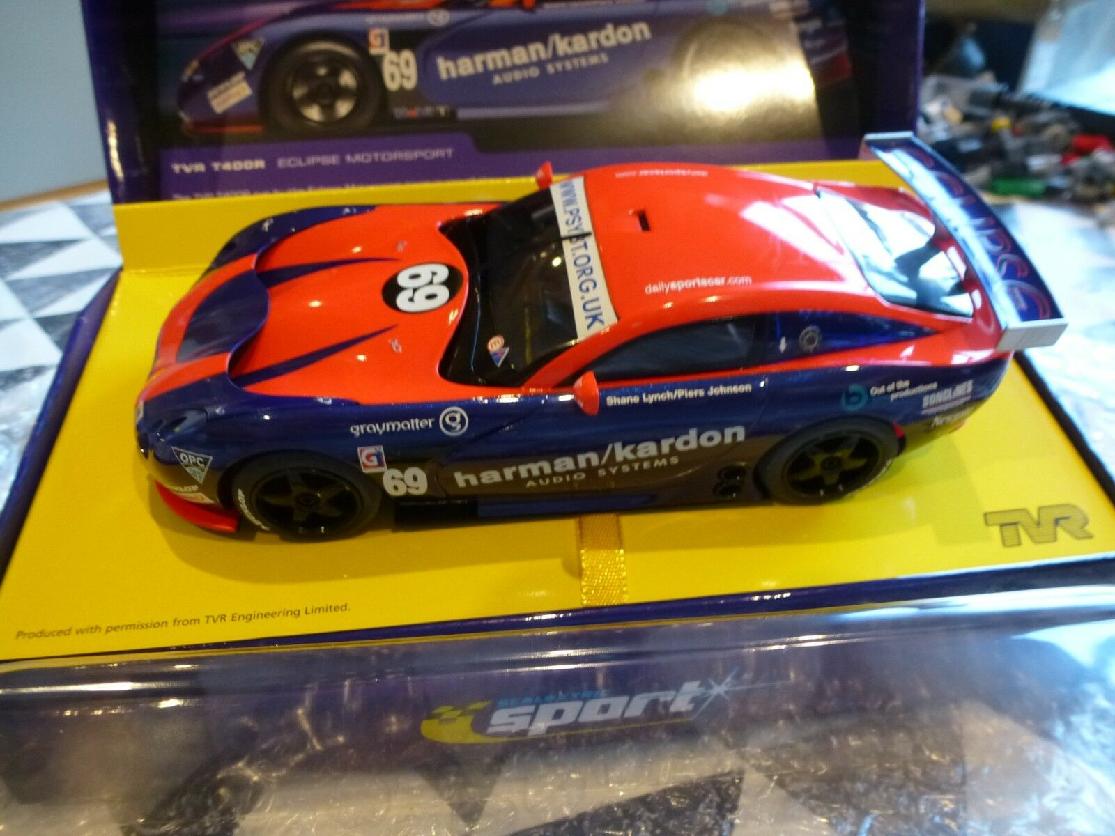 Scalextric NEW 1 32 C2454a TVR Tuscan 400R Eclipse Motorsport   For Collectors