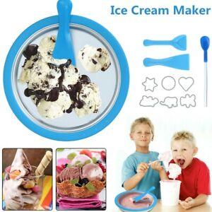 Instant-Ice-Cream-Maker-Kids-Home-Soft-Serve-Yogurt-Frozen-Pan-Ice-Roll-Time-Pan