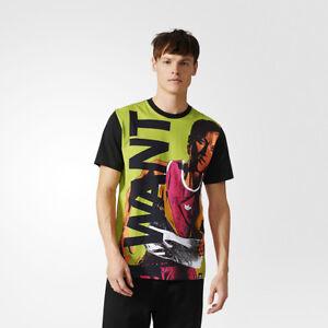 Großhandel Details zu Adidas Original Archive Katalog T Shirt Hemd Herren Grün Schwarz CD0913  im Angebot