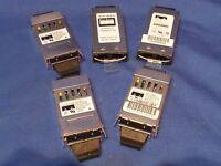 Lot of 5x Cisco WS-G5484 30-0759-01 1000Base-SX GBIC Fiber Module