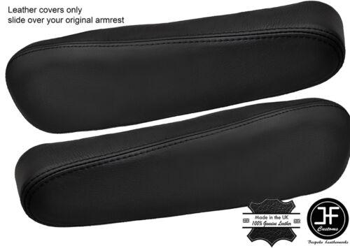 Black stitch 2X siège accoudoir en cuir couvre fits honda crv cr-v 2007-2011
