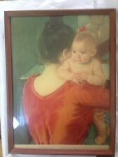 Woman Baby Game  8x10 Print 2305 Mother Playing with Her Child by Mary Cassatt