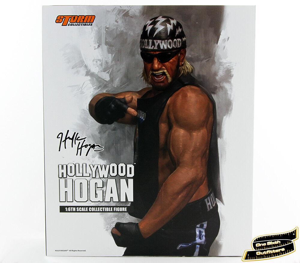 1/6 Hollywood Hogan Figure USA Storm Collectibles Hulk Hulkamania WWE WWF Toys