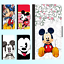 iPhone-XS-MAX-XR-8-7-Plus-6s-Leather-Wallet-Case-Disney-Mickey-Minnie-III-Cover thumbnail 1
