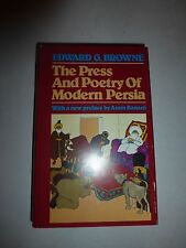 The Press and Poetry: Of Modern Persia Partly on the Manuscript WorkHBDJ 1983 98