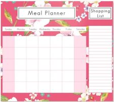 food diary meal planner and shopping magnetic fridge list weekly a4