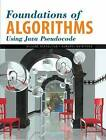 Foundations of Algorithms Using Java Pseudocode by Richard E. Neapolitan, Kumarss Naimipour (Hardback, 2004)