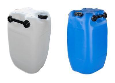 Natur/weiß 3 Griffe Neu 2019 Offiziell 60 L Kanister Wasserkanister Plastikkanister Blau