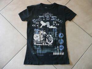 !!! Top !!! Strass T Shirt !!! Gr. S (152) !!! Bike !!!