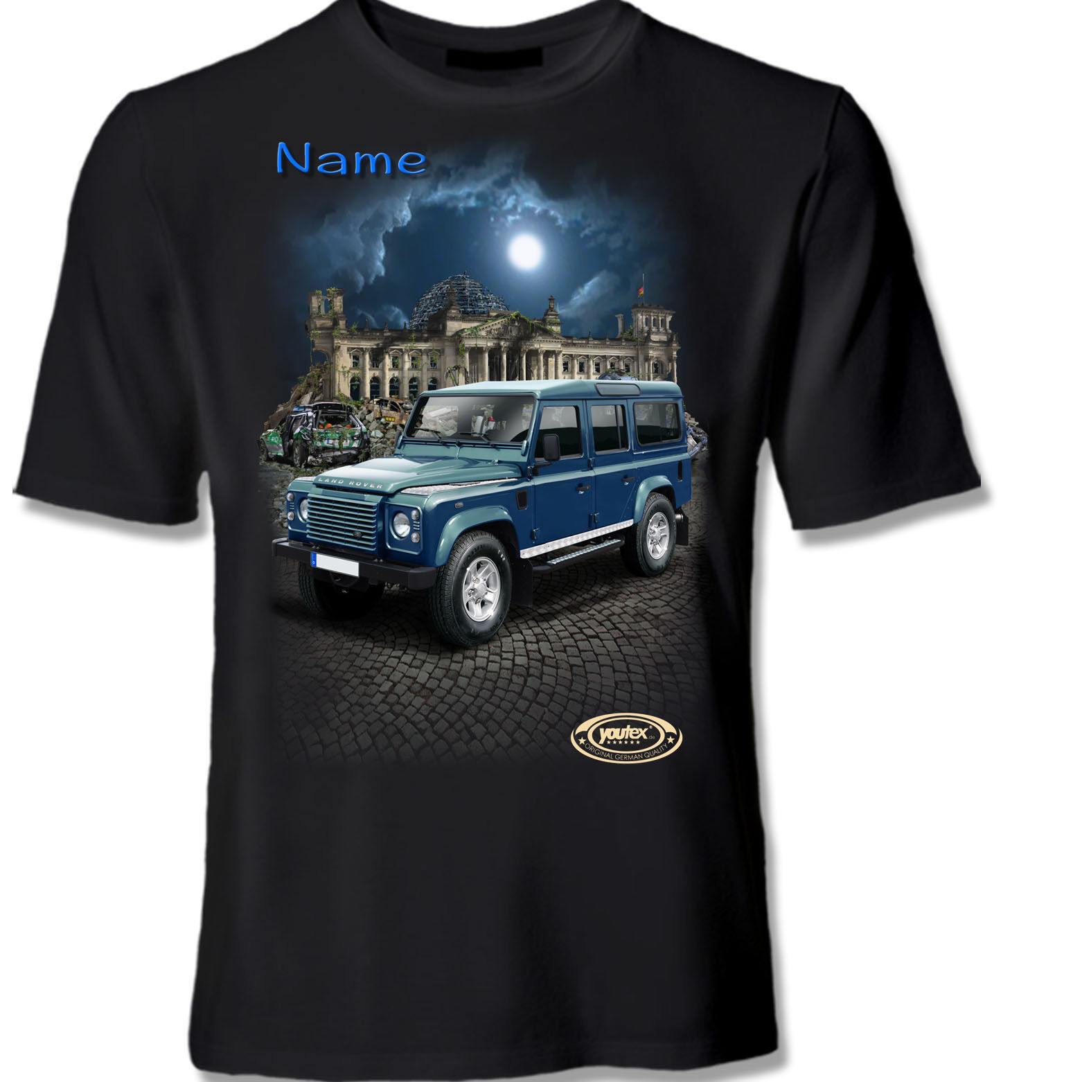 LAND ROVER DEFENDER Tuning T Shirt Shirt T-Shirt original YOUTEX
