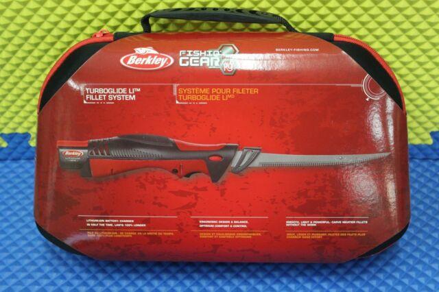 Berkley Turboglide Cordless Filet Knife System W Charger