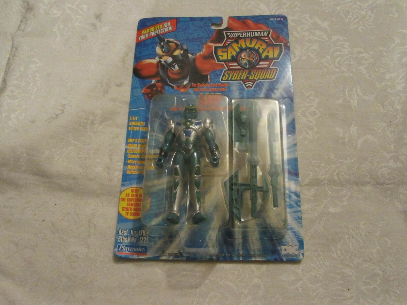 Playmates 1994 Superhuuomo Samurai SyberSquad 5 14 Amp azione cifra