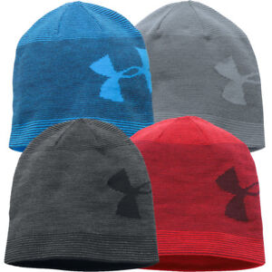 e682179f5d Details about Under Armour Mens UA Golf Billboard Beanie 2.0 Winter Wooly  Hat
