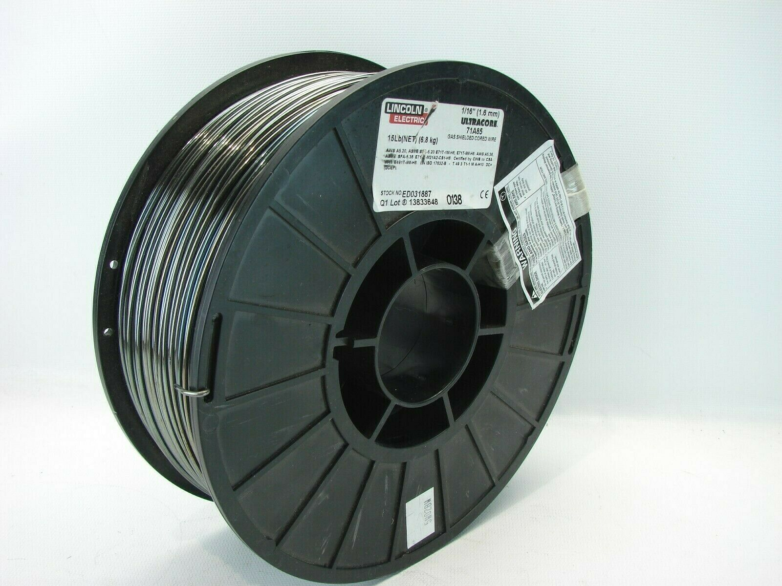 """Hobart ER 70S6 MIG Wire .024 X 2 LB 4/"""" Spool"""