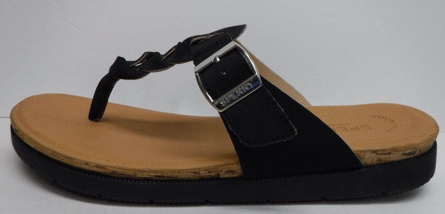 Sperry Top Sider Talla 6.5 Negro Sandalias nuevo Zapatos Zapatos Zapatos para mujer  grandes ahorros