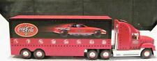 2002 Coca-Cola Light Up Die-Cast NASCAR Carrier & Race Car In Box
