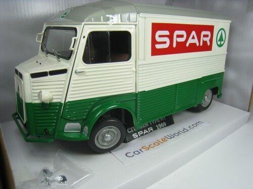 CITROEN TYPE HY 1969  SPAR  1 18 SOLIDO (vert BEIGE)