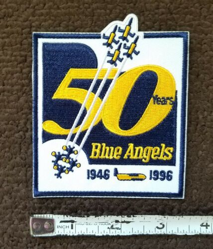 Details about  /BLUE ANGELS 1996 US NAVY Commemorative 50 YEARS Military Patch