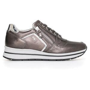 Sneaker scarpa sportiva Nerogiardini A719480D NUOVA COLLEZIONE 2017 zip