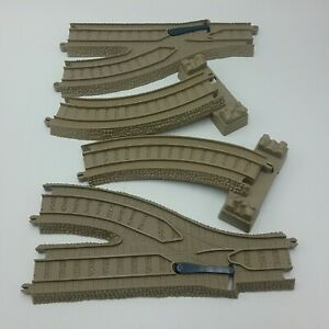 Thomas Friends Trackmaster R L Parallel Switch and R L Curved Riser Mattel