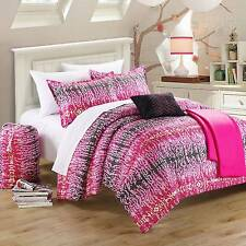 NEW! Chic Home Barbie 7-Piece Comforter Set PINK GIRLS TEENS BEDDING (TWIN SIZE)