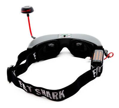 Spektrum Fat shark Teleporter V4 Video Headset Goggles w/ Tracking Fatshark