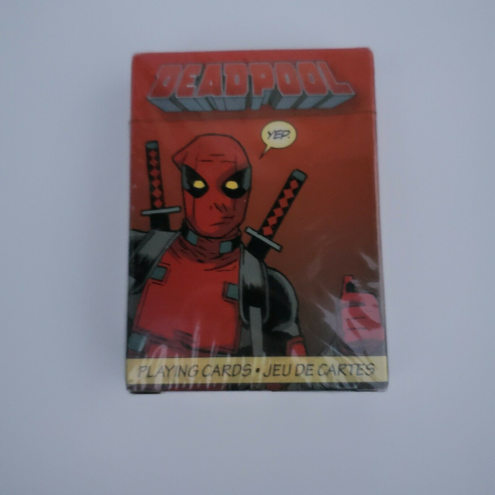 Marvel Dead Pool Playing Cards Free Shipping /& Gift!!