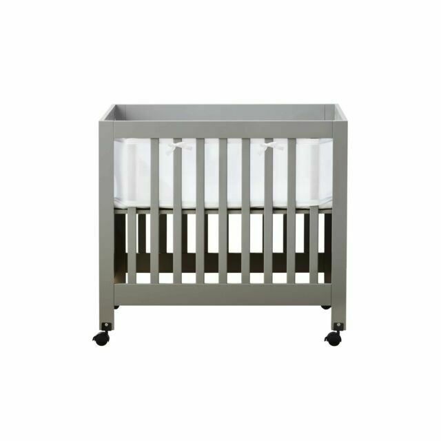 Breathablebaby Portable Mesh Crib Liner White For Sale Online Ebay