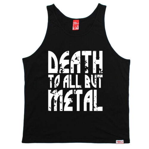 Death To All But Metal Banned Member UNI VEST birthday gift heavy rock music