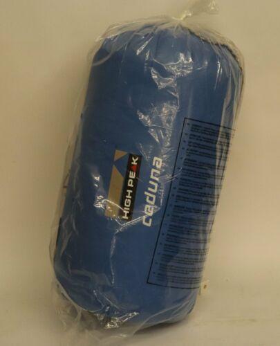 HIGH PEAK Sac de couchage Ceduna 20058 bleu clair//bleu foncé