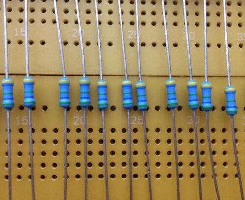 1 M 5.6 M 1.6 kV 0.25 W haute tension axiaux Résistances Vishay VR25 ± 5/% Multi Qté