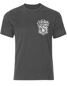 Caricamento dell'immagine in corso SLYTHERIN-Harry-Potter -parodia-maglietta-Simbolo-Uomo-Maglietta-